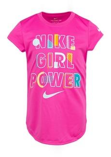 Nike Toddler Girls Girl Power Dri-fit Logo T-Shirt