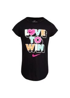 Nike Little Girls Graphic T-shirt