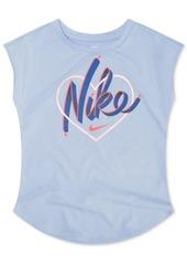 a185270931 Nike Nike Toddler Girls Heart-Print T-Shirt | Tshirts