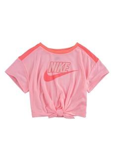 Nike Toddler Girls Logo Graphic T-shirt