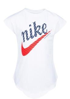 Nike Toddler Girls Logo-Print Cotton T-Shirt