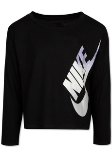Nike Little Girls Logo-Print T-Shirt
