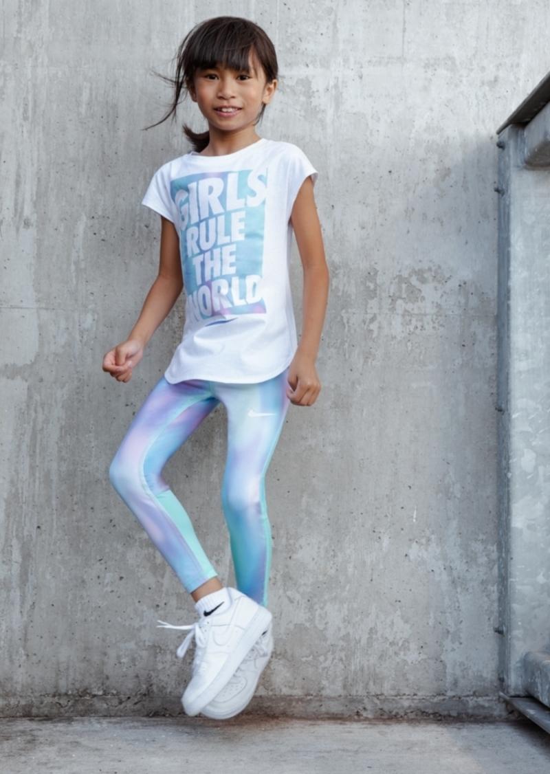 0a7f1a1574 Toddler Girls Printed Dri-fit Leggings