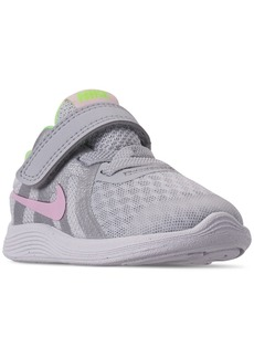e11a6bf7cb1fc Nike Toddler Girls  Revolution 4 Athletic Sneakers from Finish Line