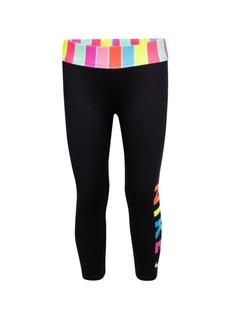 Nike Little Girls Stripe Cropped Legging