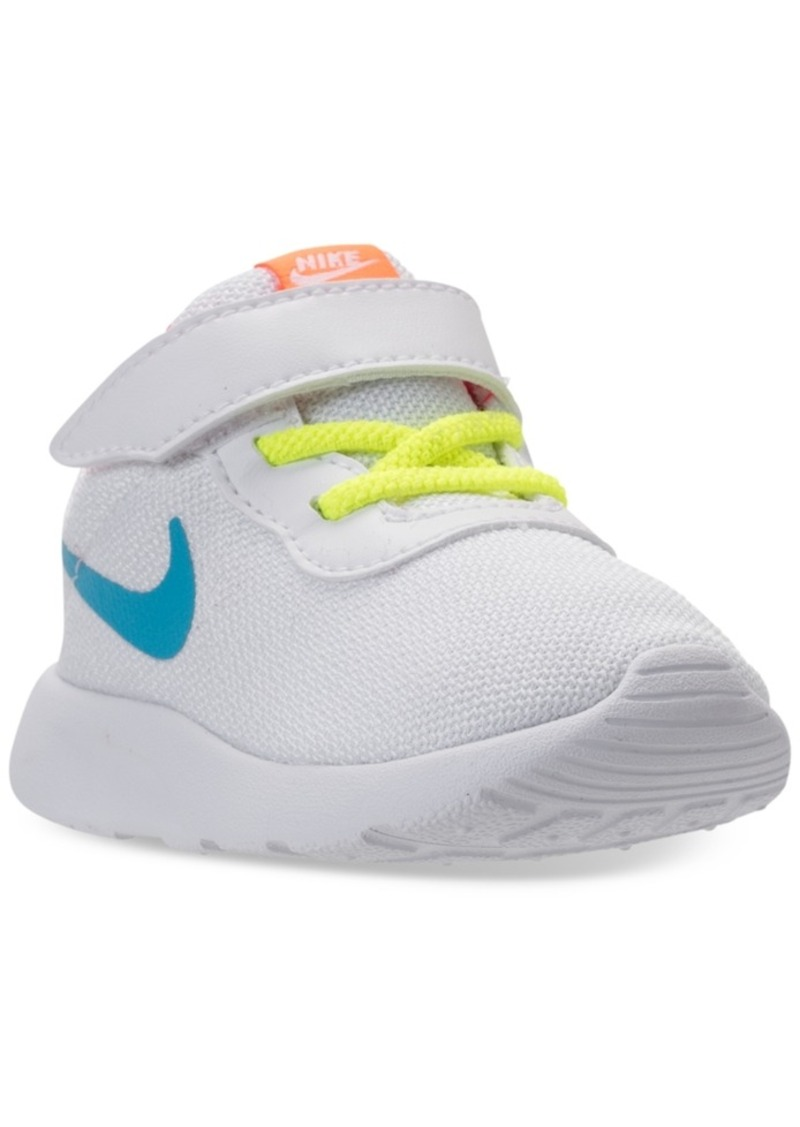 e95952516fe51 Nike Toddler Girls  Tanjun Stay-Put Closure Casual Sneakers from Finish Line