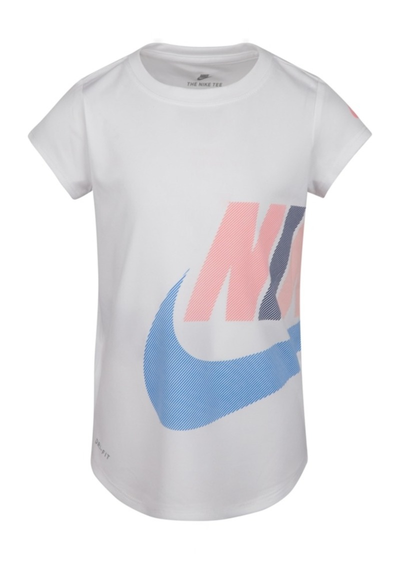 Nike Toddler Girls Wrap-Around Logo-Print T-Shirt