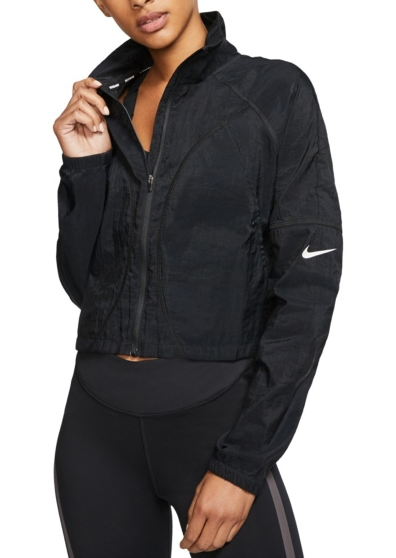 Nike Women's Translucent Cropped Running Jacket