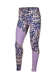 Nike Trophy Big Girl's Printed Training Tights