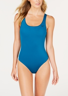 Nike U-Back Mesh-Inset One-Piece Swimsuit Women's Swimsuit
