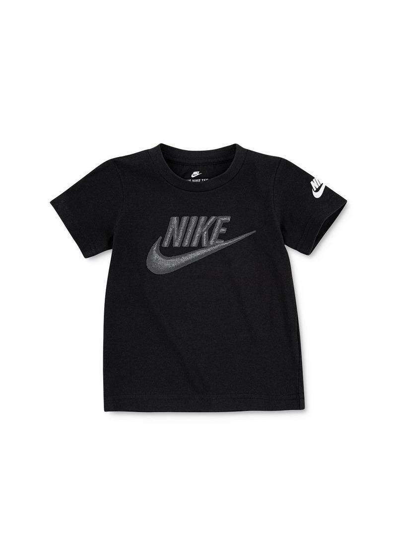 Nike Unisex Embroidered Swoosh Tee - Little Kid