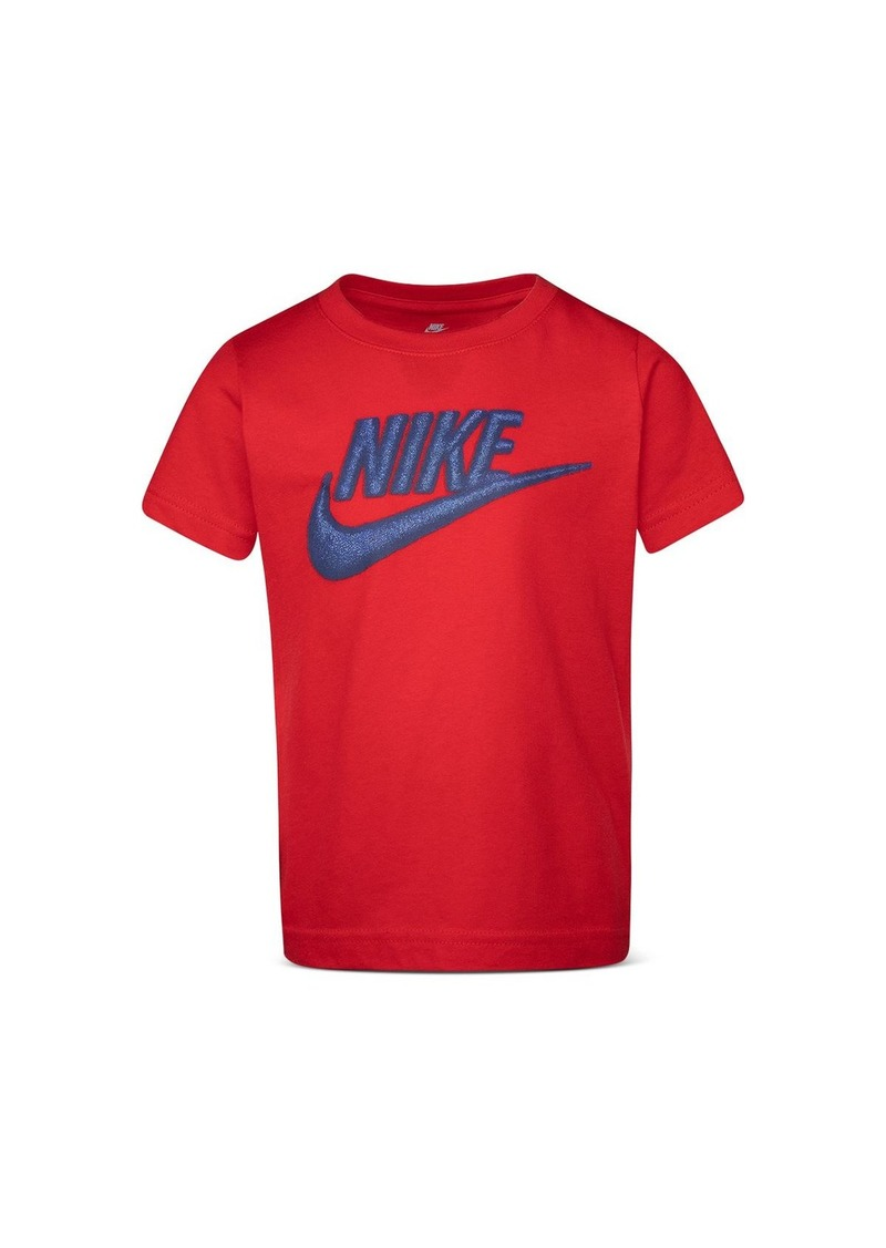 Nike Unisex Embroidered Swoosh Tee - Little Kid