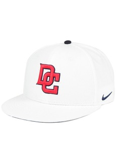 Nike Washington Nationals White Ripstop Snapback Cap