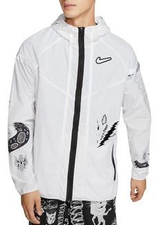 Nike Wild Run Water-Resistant Graphic Jacket