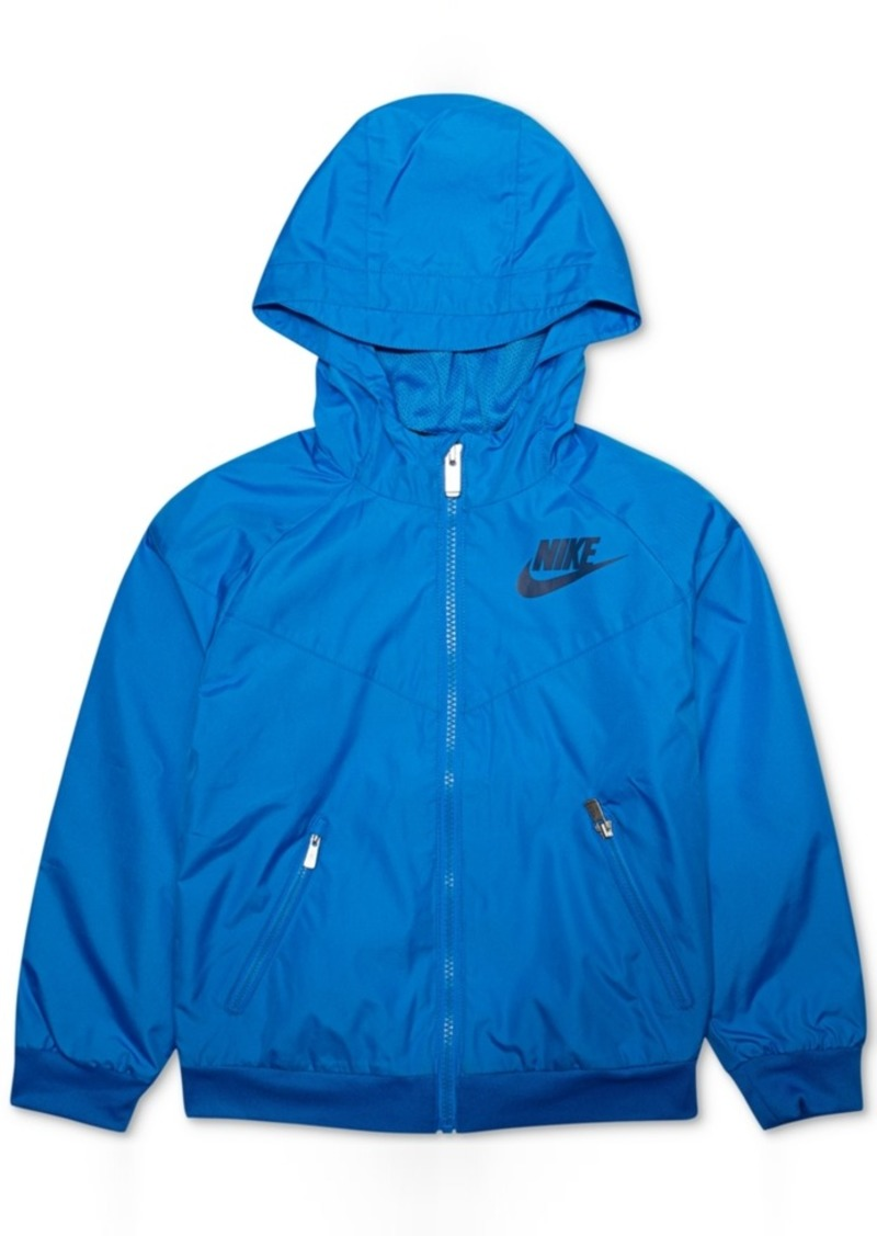 37647b56b0e3f Nike Nike Windrunner Hooded Colorblocked Jacket, Toddler Boys ...