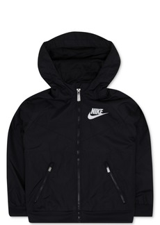 Nike Windrunner Hooded Colorblocked Jacket, Little Boys
