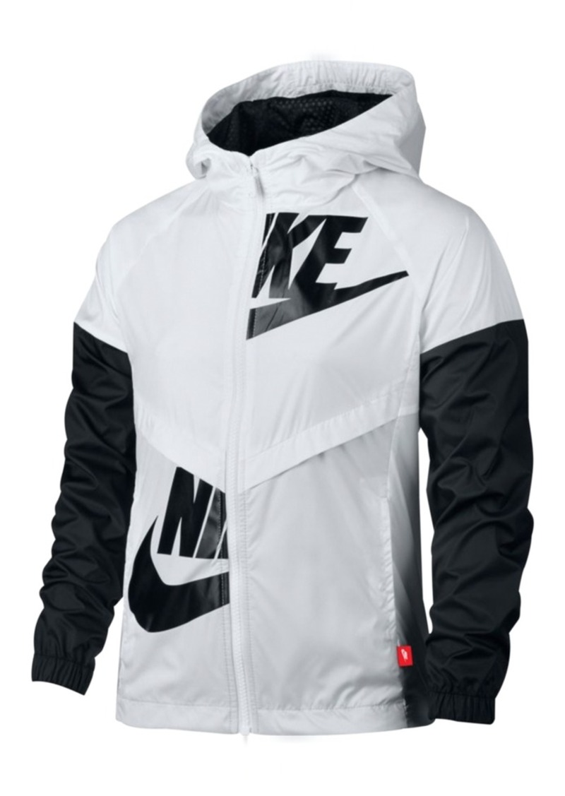 new arrival 3643a 2bfe0 Nike Sportswear Windrunner Jacket, Big Girls (7-16)