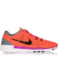 Nike Woman Free 5.0 Mesh Sneakers Orange