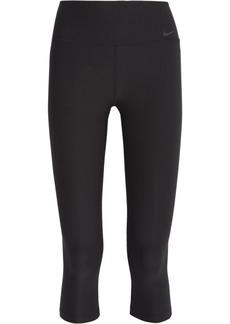 Nike Woman Legend 2.0 Cropped Stretch-jersey Leggings Black