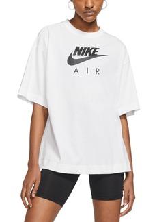 Nike Women's Air Cotton Logo T-Shirt