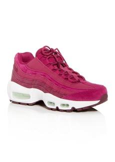 Nike Women's Air Max 95 Premium Low-Top Sneakers