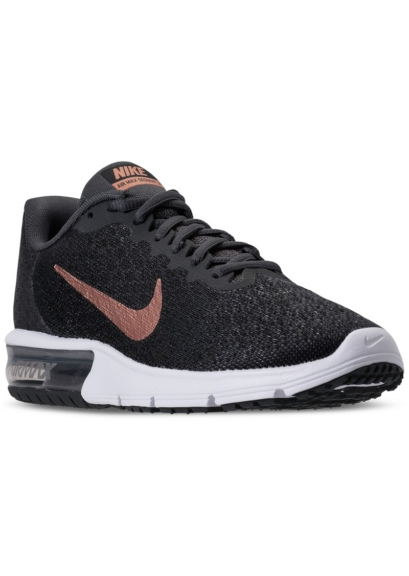 e665eeb6642975 Nike Nike Women s Air Max Sequent 2 Running Sneakers from Finish ...