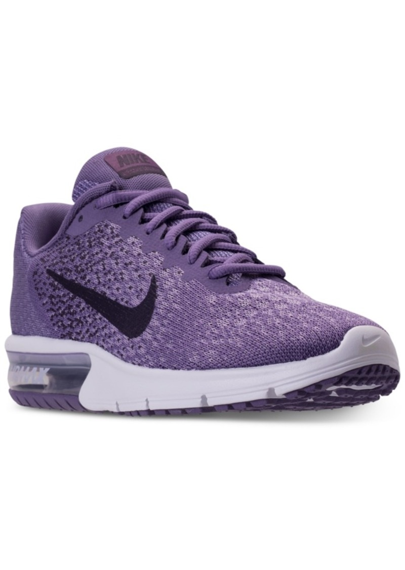 los angeles 502cd f3268 Nike Women s Air Max Sequent 2 Running Sneakers from Finish Line