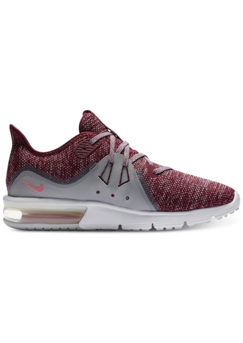 7bcc430c8d Nike Nike Women's Air Max Sequent 3 Running Sneakers from Finish ...