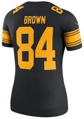 Nike Women's Antonio Brown Pittsburgh Steelers Color Rush Legend Jersey