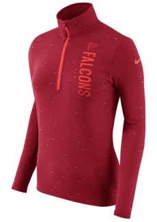 Nike Women's Atlanta Falcons Element Quarter-Zip Pullover