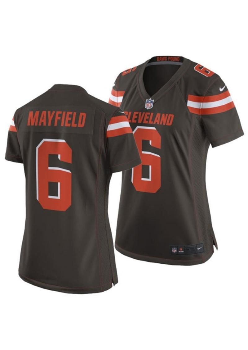baker mayfield browns jersey womens