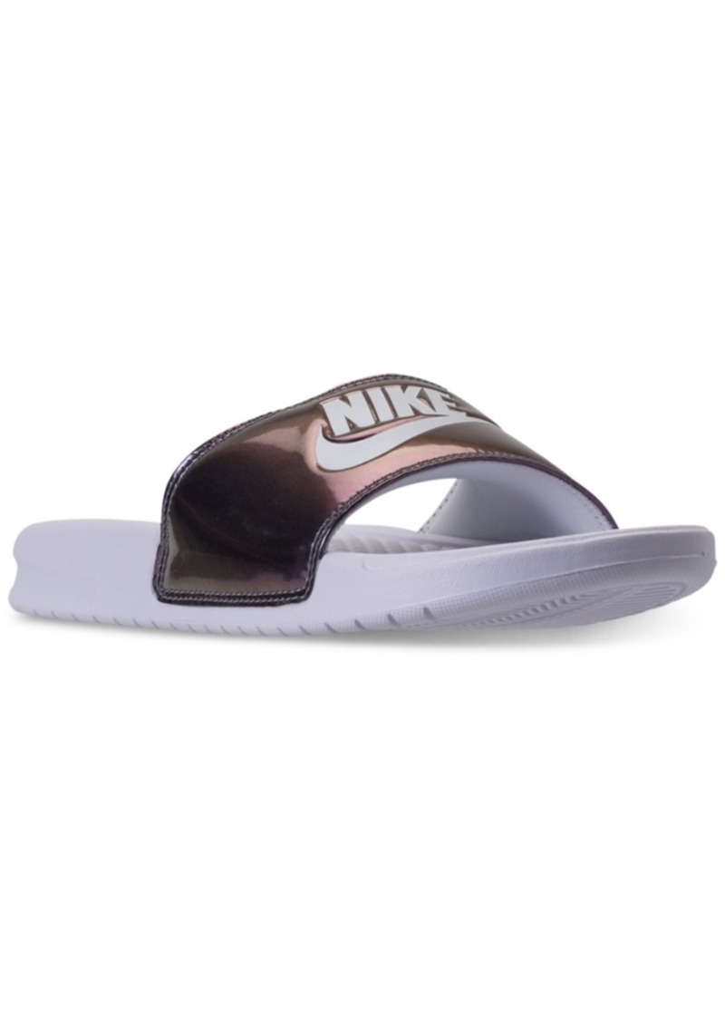 d6a9610ac7ad Nike Nike Women s Benassi Jdi Print Slide Sandals from Finish Line ...