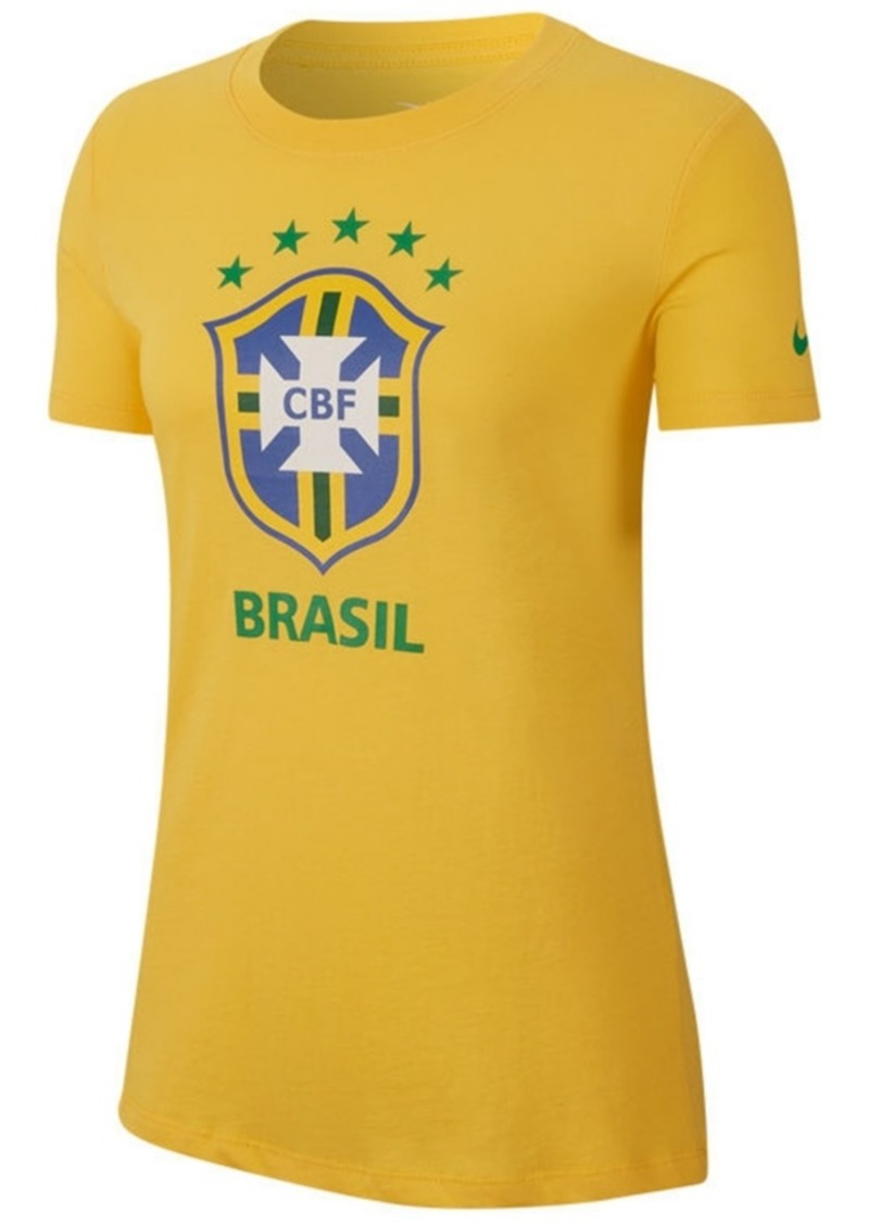 Nike Women's Brazil National Team Evergreen Crest T-Shirt