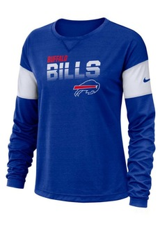 Nike Women's Buffalo Bills Breathe Long Sleeve Top