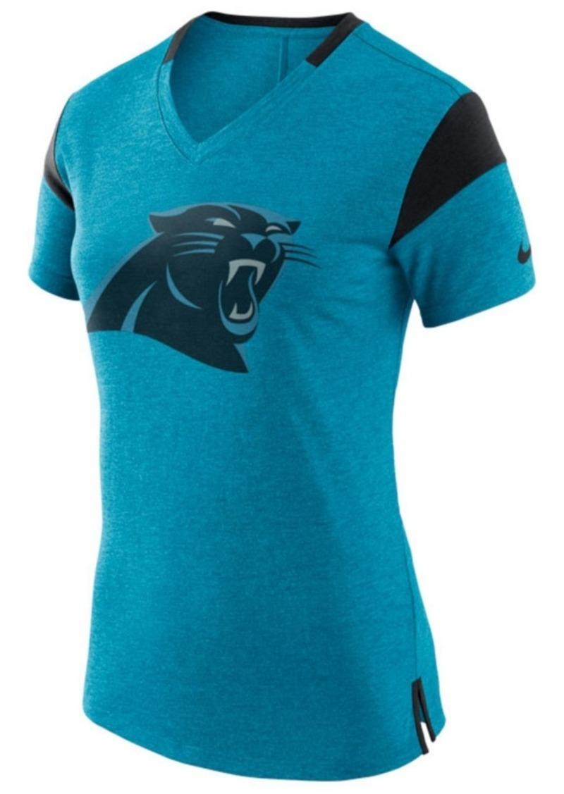 Nike Women's Carolina Panthers Fan V-Top T-Shirt