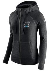 Nike Women's Carolina Panthers Gym Vintage Full-Zip Hoodie