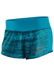 Nike Women's Carolina Panthers Printed Crew Shorts
