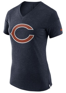 Nike Women's Chicago Bears Fan V-Top T-Shirt