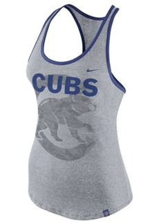 Nike Women's Chicago Cubs Marled Racer Tank