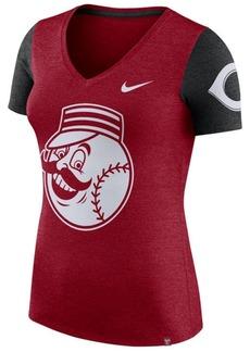 Nike Women's Cincinnati Reds Dri-Fit Touch T-Shirt