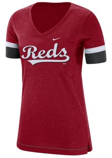 Nike Women's Cincinnati Reds Tri-Blend Fan T-Shirt