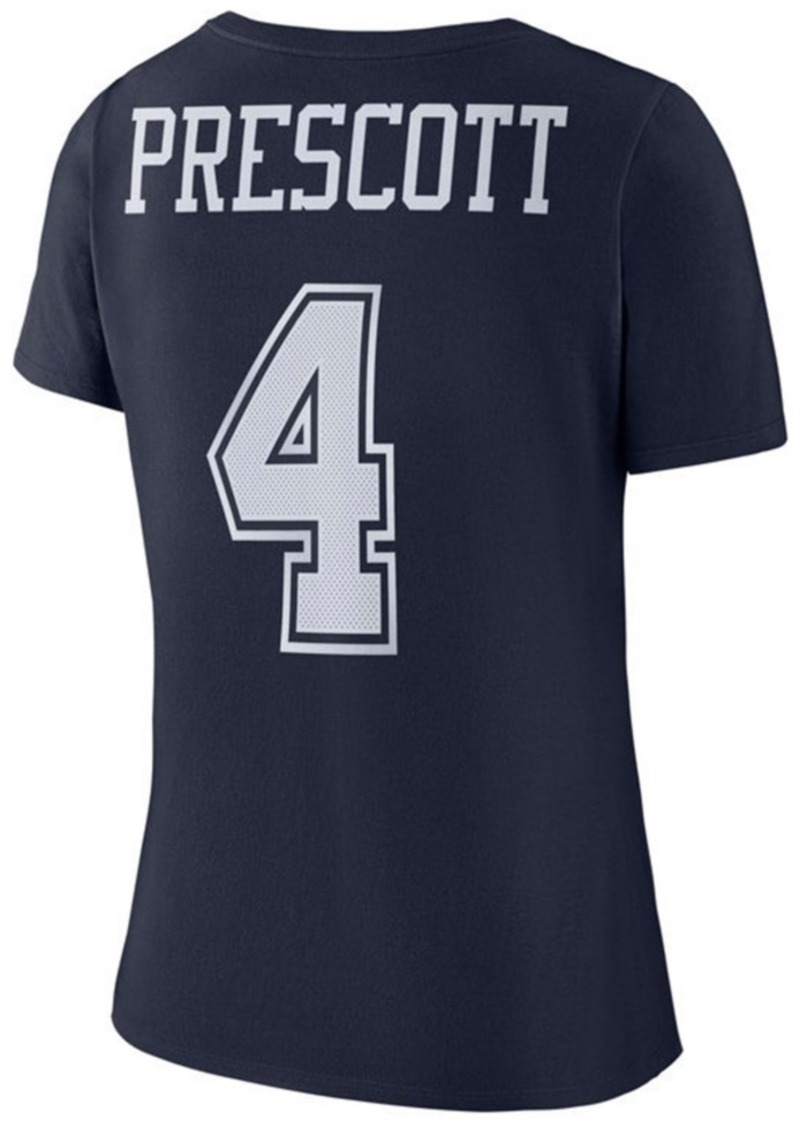 detailed look 8f9b6 d9ccb Women's Dak Prescott Dallas Cowboys Mesh Player Pride T-Shirt