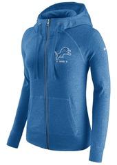 Nike Women's Detroit Lions Gym Vintage Full-Zip Hoodie