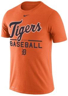 Nike Women's Detroit Tigers Cotton Crew Logo T-Shirt