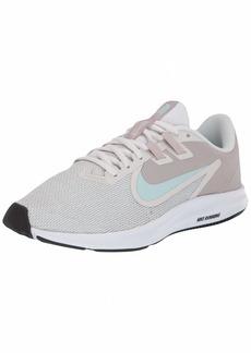 Nike Women's Downshifter 9 Sneaker Platinum Teal Tint-Moon Particle  Regular US