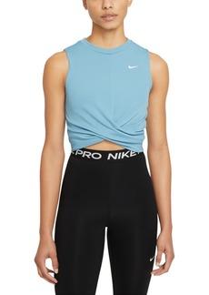 Nike Women's Dri-fit Twist Tank Top
