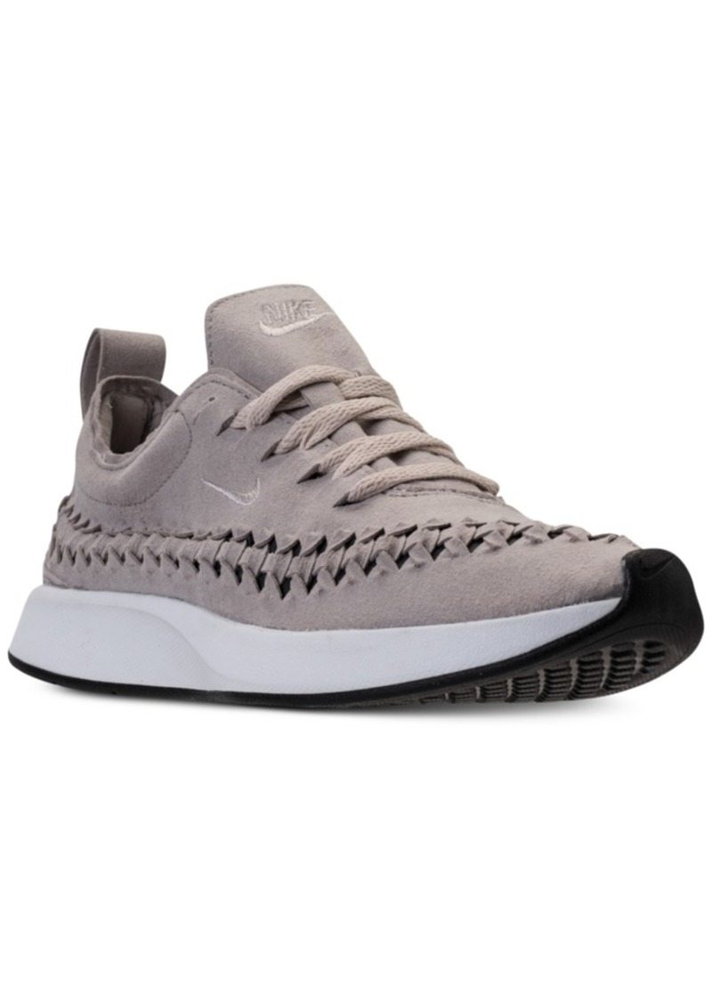 new product a0eb4 a51e5 Women's Dualtone Racer Woven Casual Sneakers from Finish Line