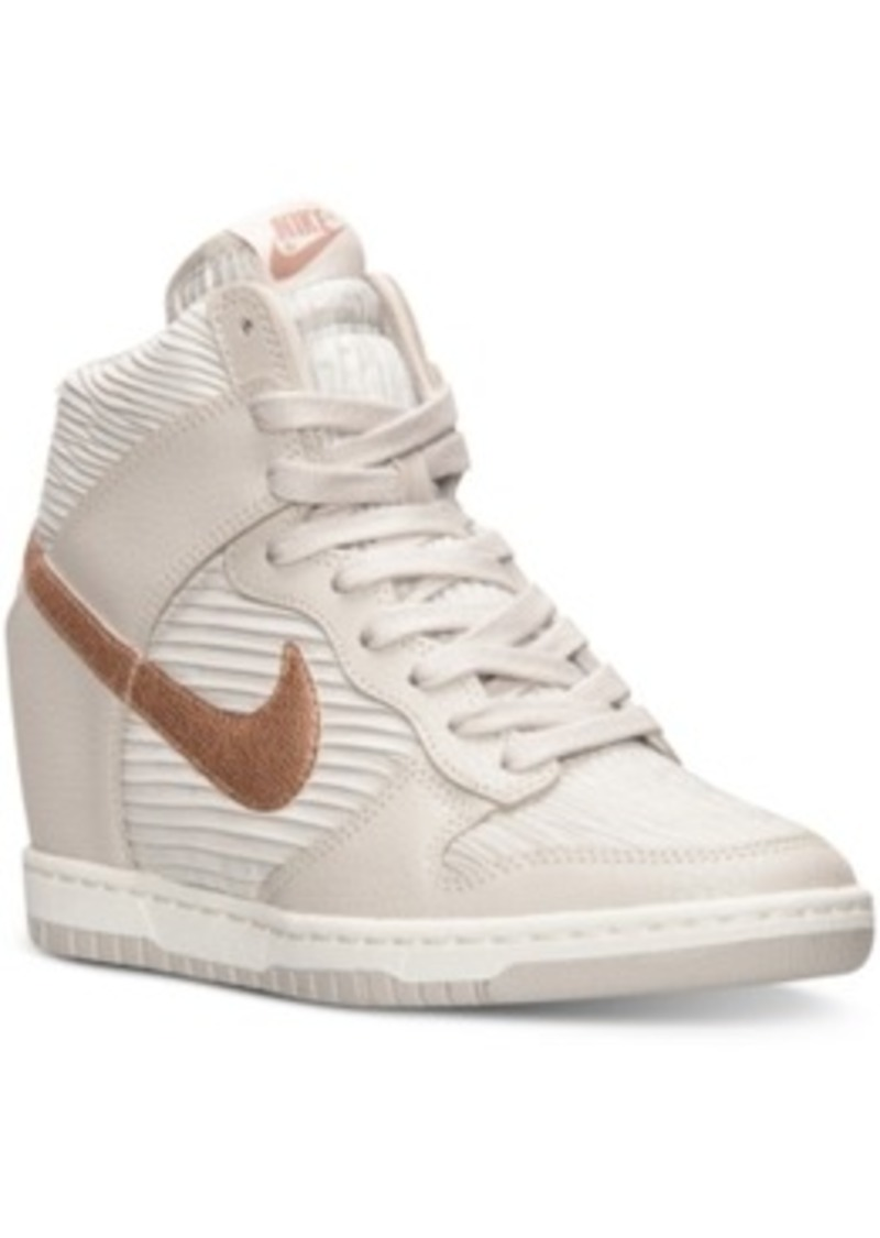 nike nike s dunk sky hi casual sneakers from finish
