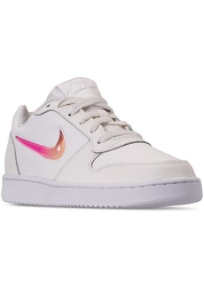 Nike Women's Ebernon Low Premium Casual Sneakers from Finish Line