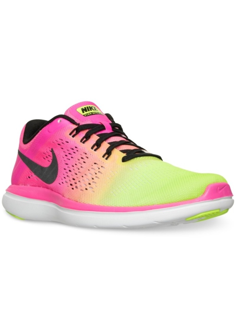 2b14c5a08a778d Nike Nike Women s Flex 2016 Run Ultd Running Sneakers from Finish ...